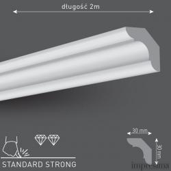 Плинтус потолочный C30