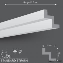 Плинтус потолочный Z50