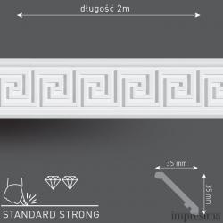 Плинтус потолочный DM351
