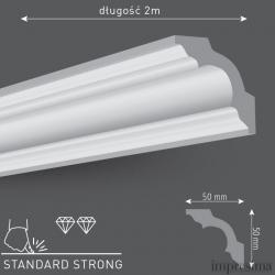 Плинтус потолочный G50