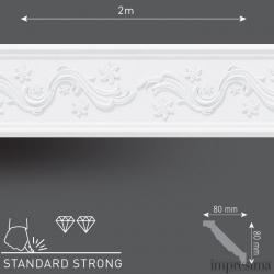 Плинтус потолочный DM1103