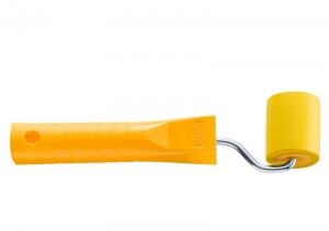 Ролик резиновый, 5 см, диам. 38 мм + ручка 6 мм