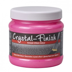 Crystal Finish Neon Pink