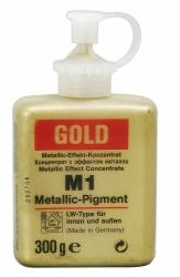 Металл - Эффект Пигмент золото