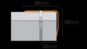 Профиль PS8 (3 цвета)
