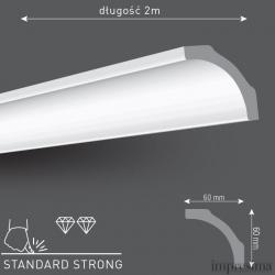 Плинтус потолочный Z60