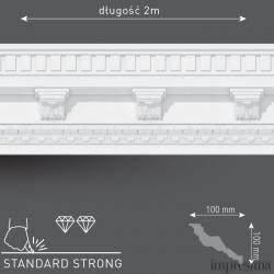 Плинтус потолочный DM1401