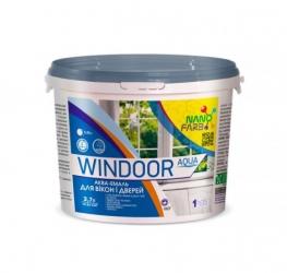 Эмаль акриловая для окон и дверей Windoor Aqua