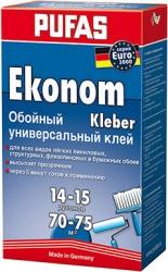 Универсальный экономичный обойный клей Pufas Euro 3000 Ekonom