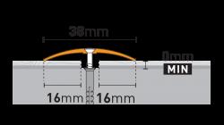Профиль PR8 (3 цвета)